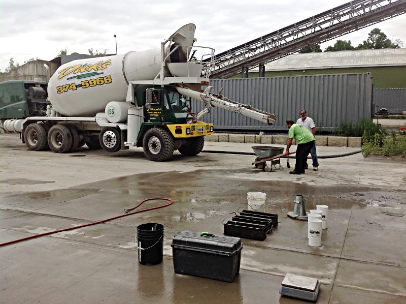 Dicks concrete new hampton